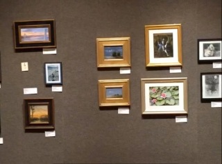 Thumb Box exhibition at the Salmagundi Club, NYC