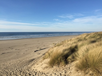 Siltcoos Beach at Oregon Dunes National Recreation Area
