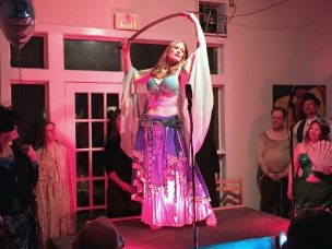 Donna Barrett is part of the Cait Johnson and Friends Troupe that performed at the Tivoli Artists Co-op