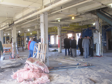 Lace Factory in construction phase