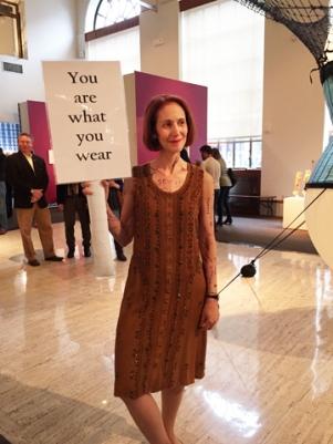 Marcy B. Freedman, installation artist