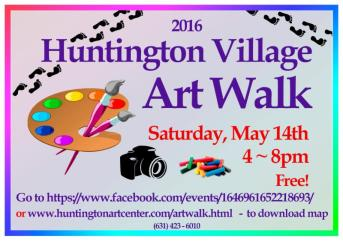 huntington art walk