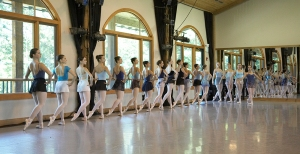 One of the Dance Studios