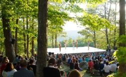 Inside/Out performance space at Jacob's Pillow