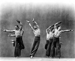 Ted Shawn and Men Dancers in the early 1930's