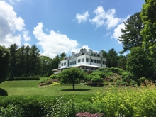 Edith Wharton's home The Mount in Lenox, MA.