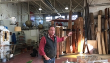 Robert Kulp talking about his company Black Dog Salvage