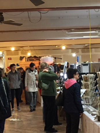 Shoppers at the Made in Kingston event
