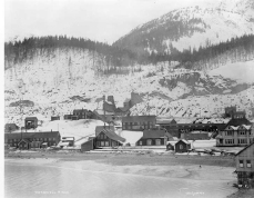 Treadwell Mine in Juneau Alaska