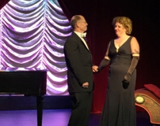 Curtain call, Jay Kerr and Alison Davy