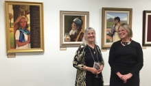 Donna Catotti (l) and Nancy DeCherney (r), JACC Director