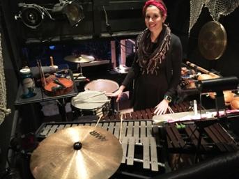 Kaylee Bonatakis percussionist Perseverance Theatre